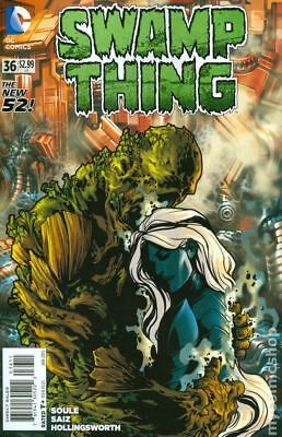 Swamp Thing (5th Series) #36 2015 VF Stock Image