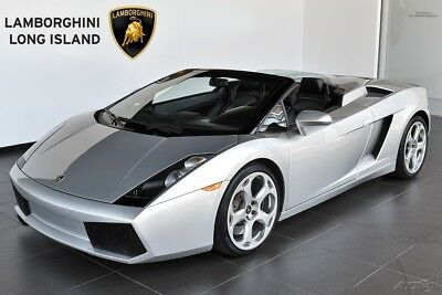 Lamborghini Gallardo  Rare 6 Speed Manual Transmission, Front Lifting System, Fully Electric Seats