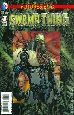 Swamp Thing Future's End 1A 2014 NM Stock Image