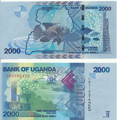 Uganda [133] - 2000 Shillings 2017 UNC - Pick New
