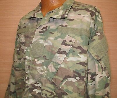 US Military Issue Multicam Scorpion OCP Camo Army Combat Coat Jacket FR Sz LS