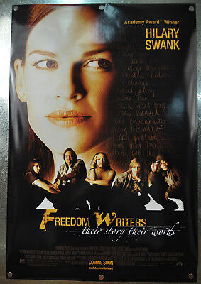 Freedom Writers Original Advance DS One Sheet Movie Poster 2006 27 x 40