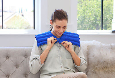 Microwave or Freezer - Arthritis Relief, Sore Muscle Relief My Heating Pad (Blue