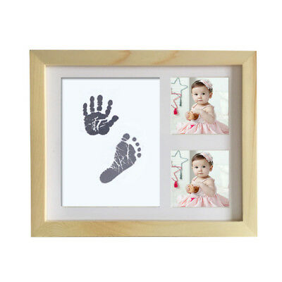 Inkless Wipe Baby Girls Kit Handprint Keepsake Newborn Boys Footprint Souvenir