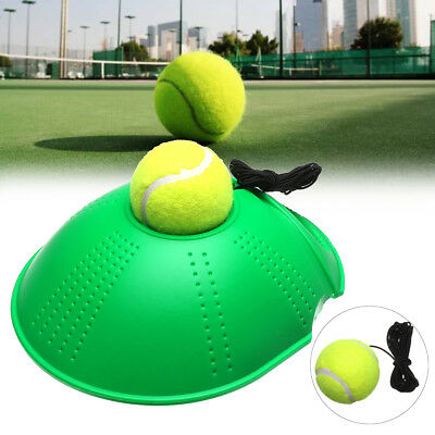 Selfstudy Tennis Training Tool Outdoor Exercise Ball Rebound Trainer Base Holder