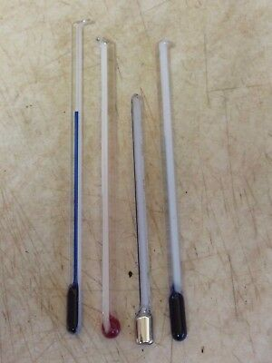 4 Useful Old Small Barometer Thermometers- Working (C)