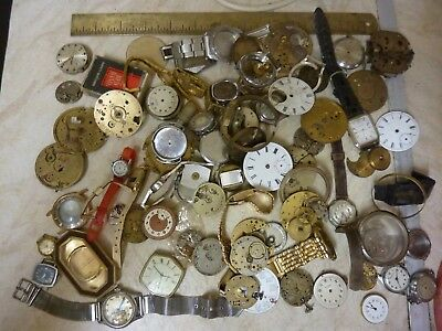2kgs WATCH - POCKETWATCH BITS AND PIECES (C)