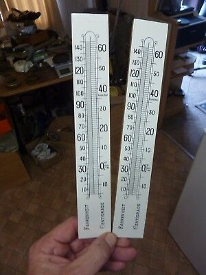 2 New Old Stock  Barometer Thermometer Scales