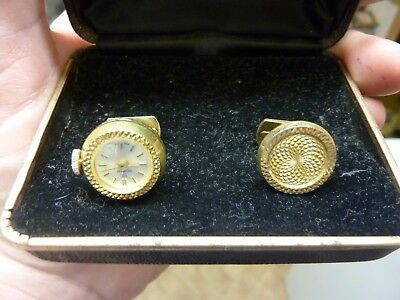 Pair Of Cufflinks In Box - 1 With Watch