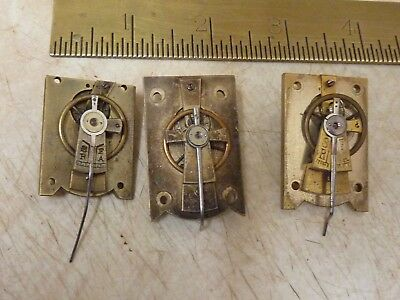 3 Antique Carriage Clock Platforms - Repair (3St)