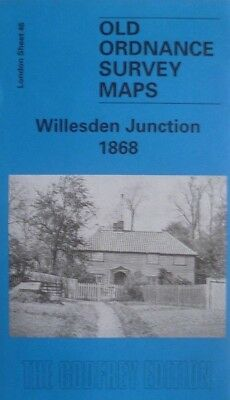OLD ORDNANCE SURVEY MAPS WILLESDEN GREEN /& BRONDESBURY LONDON 1893 Special Offer