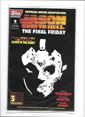 Jason Goes To Hell [1993 Fn] Official Movie Adaptation!  Sealed In Bag!