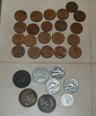 Mixed Canadian Coin Lot
