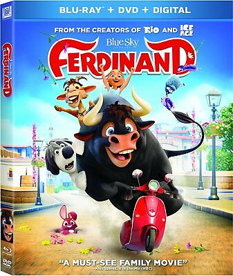 Ferdinand (Blu-ray Disc ONLY, 2018)