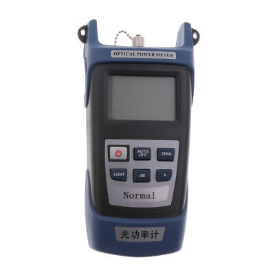 Handle Fiber Optic Optical Power Meter Tester -70~+10dBm with SC FC Adapter