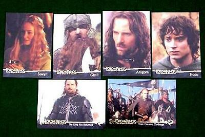 Bundle Lot of 60+ Lord of the Rings Return of the King Trading Cards by Topps