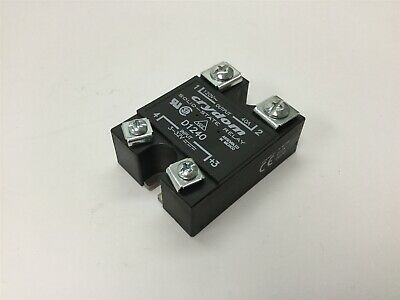 Crydom D1240 Solid State Relay, Control: 3-32VDC, Contact Rating: 120VAC 40A