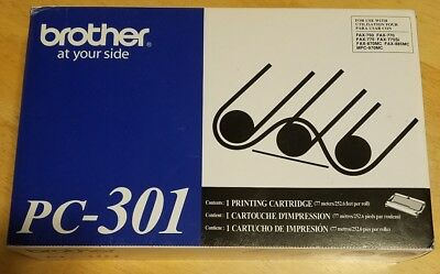 BROTHER PC-301 Printing Cartridge new sealed free shipping never been used