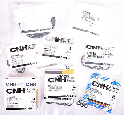 Lot of CNH Ford New Holland Steering Cylinder Repair Parts