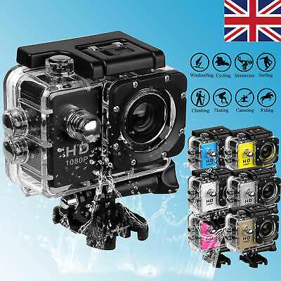 SJ9000 Ultra HD Waterproof Sport Action Camera Camcorder DVR Dive Water-ski Swim
