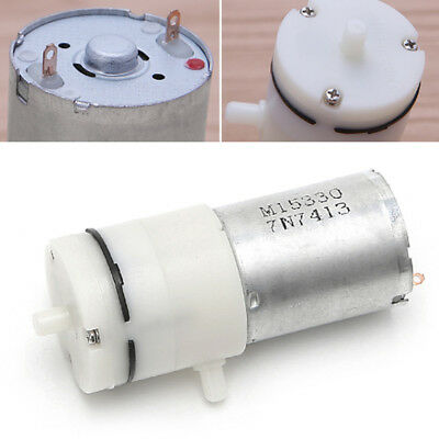 Mini Air Vacuum Pump Electric Pumping Booster For Medical Instrument DC 12V FR