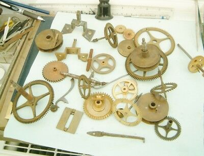 Clock makers Longcase Grandfather clock Lifters under dial wheels parts repairer