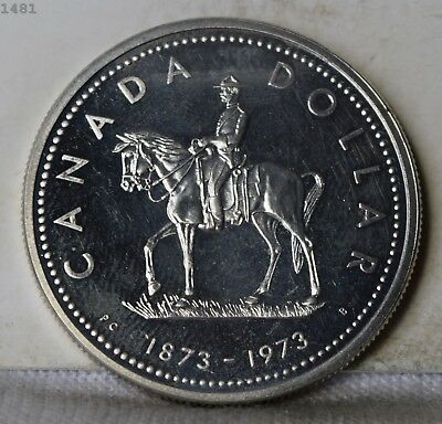 "1973 *Silver* Canada 1 Dollar ""Choice Proof"" *Free S/H After 1st Item*"