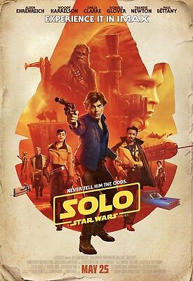 Solo a Star Wars Story IMAX 13x19 Promo Movie POSTER