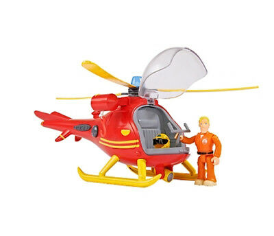 Simba 109251661 - Sam helicopter with figure - Toy Simba Toys NEW