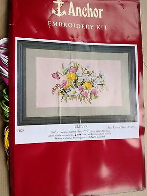 """CLOVER"" Surface Embroidery Kit by ANCHOR"