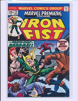 Marvel Premiere # 19 - 1st Colleen Wing Fine+ Cond.