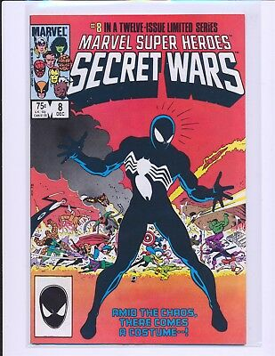 Marvel Super Heroes Secret Wars # 8 - Origin Venom alien costume VF/NM Cond.