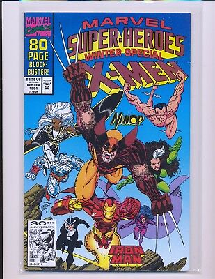 Marvel Super-Heroes Vol. 2 # 8 Winter Special 1991 - 1st Squirrel Girl VF Cond.