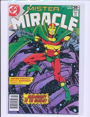 Mister Miracle # 22 VF+ Cond.