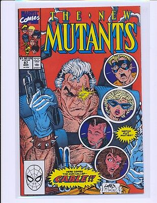 New Mutants # 87 - 1st full Cable Fine+ Cond.