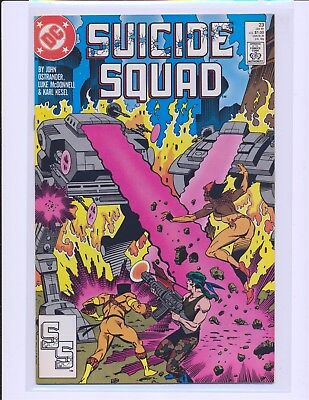 Suicide Squad # 23 - 1st Oracle Fine+ Cond.