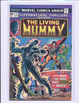 Supernatural Thrillers # 12 - Living Mummy VF/NM Cond.