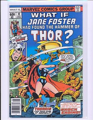 What If? # 10 - 1st Jane Foster Thor VF Cond.