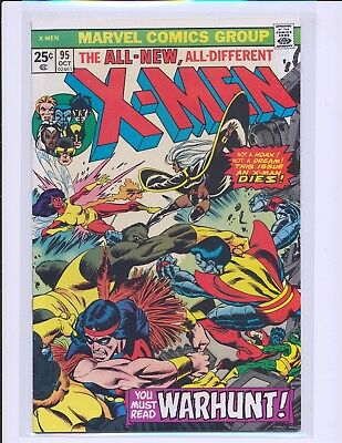 X-Men # 95 - Death of Thunderbird Fine+ Cond.