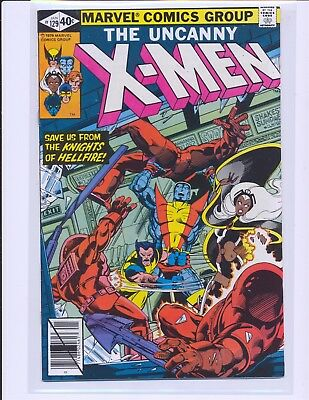 X-Men # 129 - 1st Kitty Pryde & Emma Frost VF+ Cond.