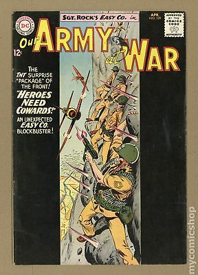 Our Army at War #129 1963 VG 4.0