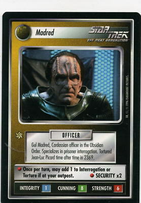Star Trek CCG Q-Continuum, Madred. Mt/Nr-Mt.