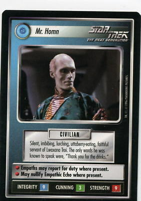 Star Trek CCG Q-Continuum, Mr. Homn. Mt/Nr-Mt.