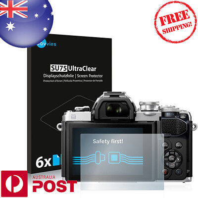 6x Savvies® SU75 Screen Protector for Olympus OM-D E-M10 Mark III - P035BF