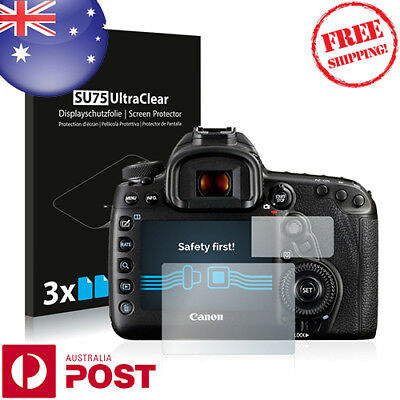 6x Savvies SU75 HD Screen Protector for Canon EOS 5D Mark IV - P011BF