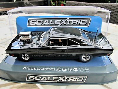 "Scalextric  Dodge Charger  Black  "" Mad Max ""   Ref.  C3936"
