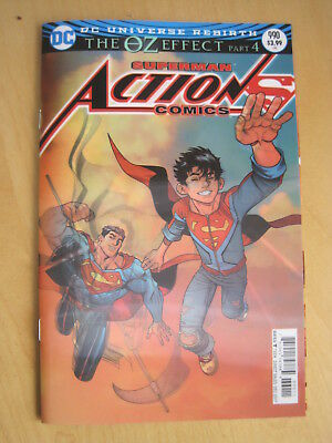 SUPERMAN : ACTION COMICS 990. 3D LENTICULAR COVER. The OZ EFFECT. DC. 2017