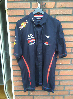 Red Bull Hemd - Formel 1 Racing Team - orig. Pepe Jenas London - Gr. XL - Vettel