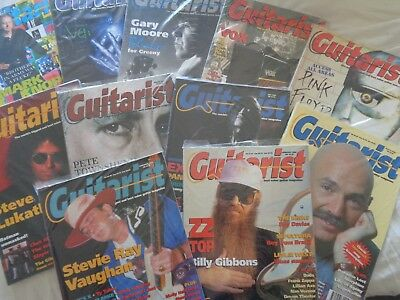 Guitarist Magazines  Learn How To Play  - Tabs - Skills - Styles