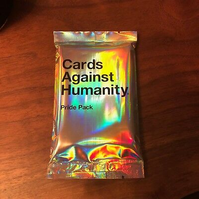 Cards Against Humanity Pride Pack Without Glitter Expansion Pack